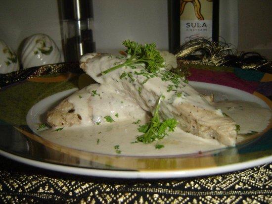 Oriental Thai-European Restaurant: Fisch Steak Western Style