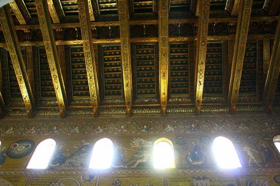 Duomo di Monreale: Soffitto