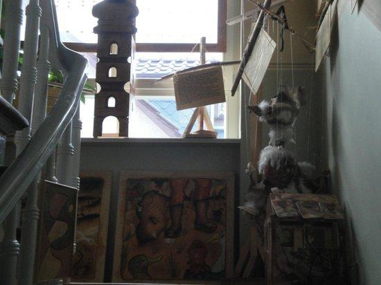 Asbach Appartements: Treppenhaus zum Verweilen