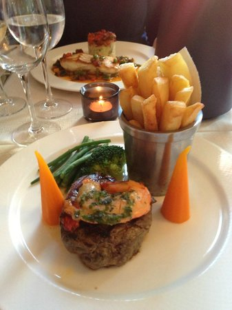 The Bay Tree Restaurant : Surf And Turf