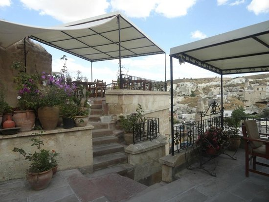 Canyon View Hotel: Terrace