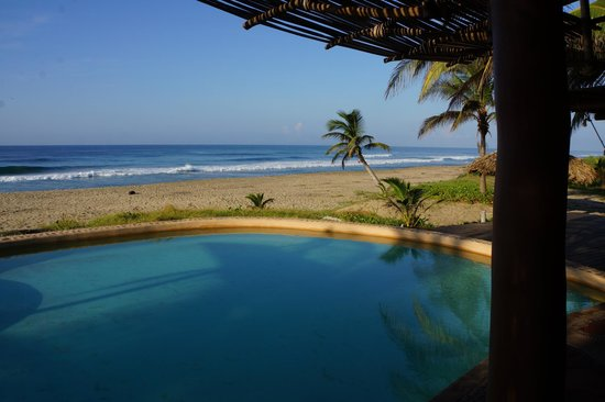 Playa Viva: Morning view