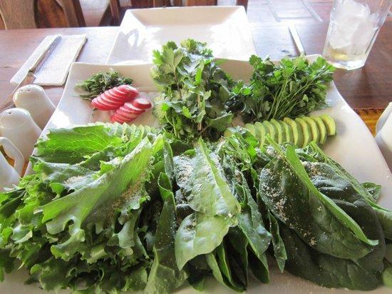 IFK Lodge: Super fresh salad
