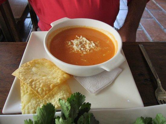 IFK Lodge: the restaurant delicious tomato soup