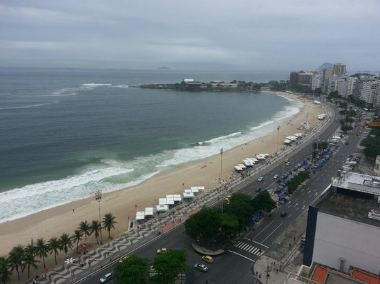 Rio Othon Palace Hotel: View from my room