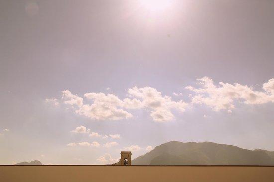 Palazzo Steri - Chiaramonte - Carcere dei penitenziati: Dalla terrazza