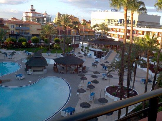 La Siesta Hotel: view from bedroom