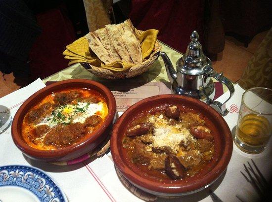 Restaurante Arrayanes: Tajines
