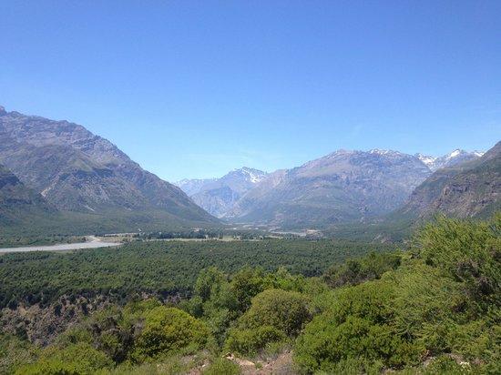 Reserva Nacional Rio Los Cipreses: Vista desde un sendero