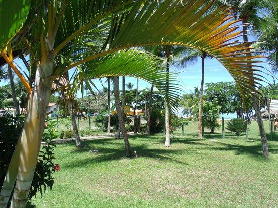 Hotel Quarup Praia : parque