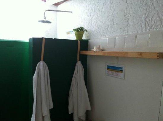 Posada Galeria La Corsaria : Detalhes do banheiro também
