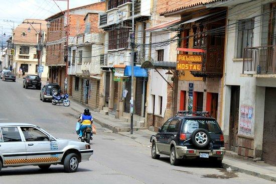 # Pachamama Hostel: fachada