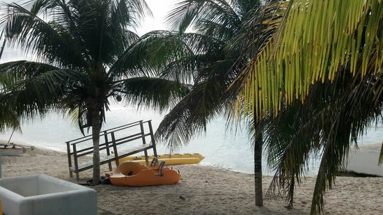 Nachi Cocom Beach Club & Water Sport Center: View from the patio