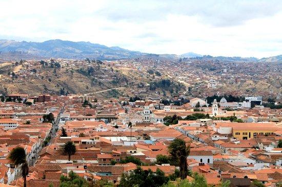 La Recoleta: panoramas de Sucre
