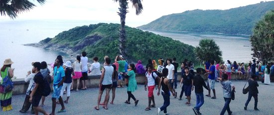 The Vijitt Resort Phuket: Sunset at the cape