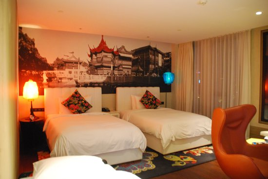 Hotel Indigo Shanghai on the Bund: Room with extra bed