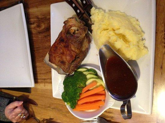 The Pheasant Restaurant & Pheasant Inn: Slow cooked shoulder of lamb