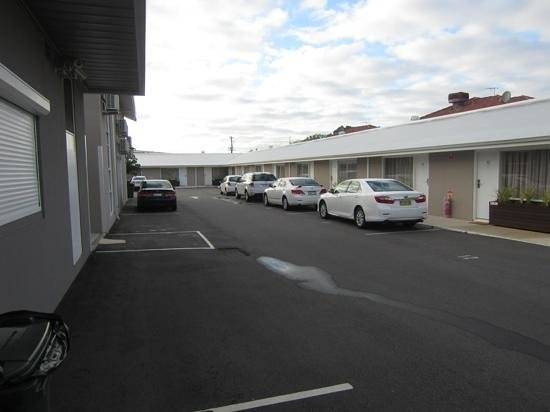 Bentley Motel: park right outside your unit