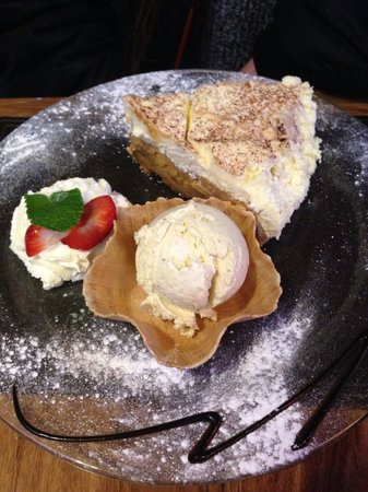 The Pheasant Restaurant & Pheasant Inn: Banoffee pie simply to die for