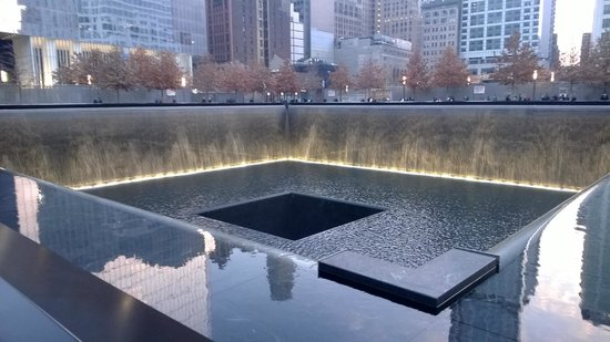 National September 11 Memorial und Museum: Pool