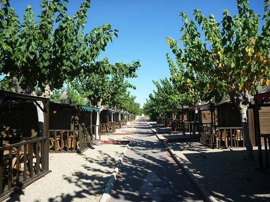 Magic Robin Hood: calles de cabañas Doña Ginebra