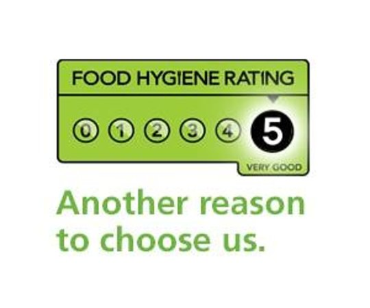 The Chippy: 5 star hygiene rating