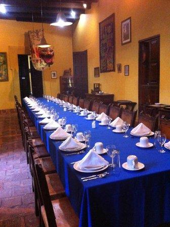 Casa Na Bolom : Comedor de Na Bolom