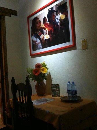 Casa Na Bolom: Mesa de trabajo de la suite Amatenango