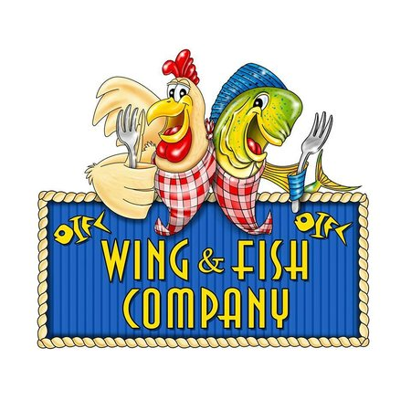 Wing and Fish Company: New Sign