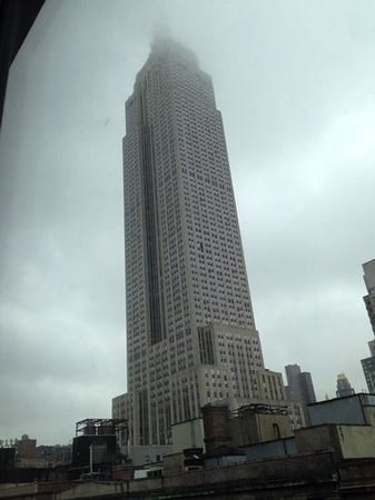 Hilton Garden Inn New York/West 35th Street: vista do quarto