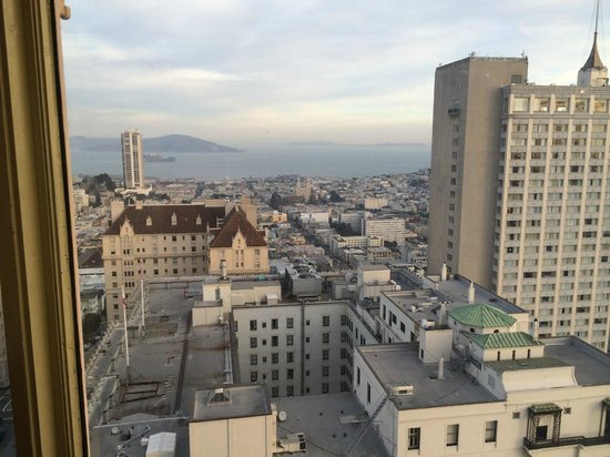 InterContinental Mark Hopkins San Francisco: Breakfast views