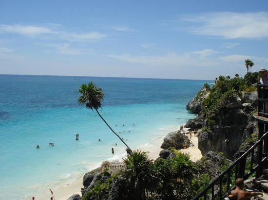 Mayanpage Tours & Transfers: Tulum ruins and beach