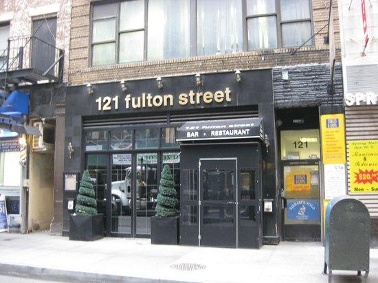 121 Fulton Street Restaurant: Exterior - Front