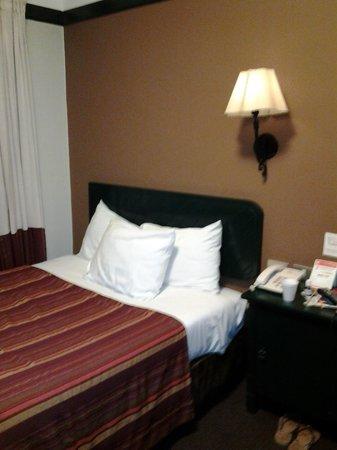 Casa Andina Standard Cusco Plaza: camaas queen, apartamento apertado