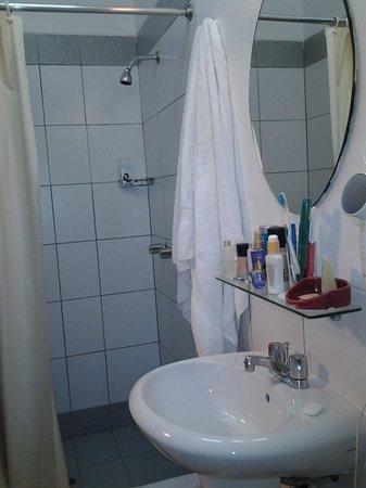 Casa Andina Standard Cusco Plaza : banheiro razoável, mas pequeno.