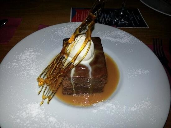 The Dining Room: Delicious sticky toffee pudding!