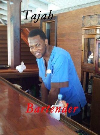 Hermitage Bay: Bartender