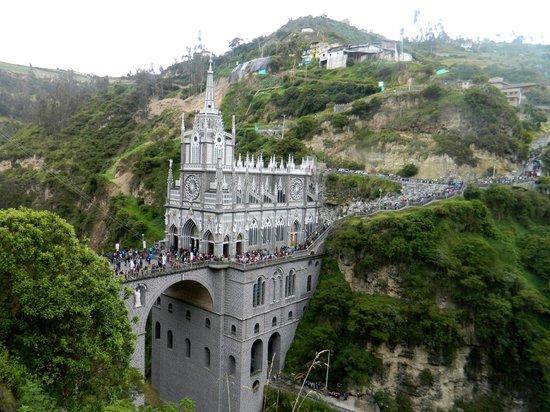 Las Lajas Sanctuary: SANTUARIO DE LAS LAJAS IPIALES COLOMBIA