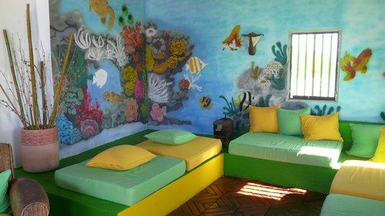 Posada Galapagos: Hall d'entrée