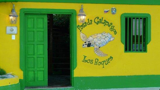 Posada Galapagos : Façade