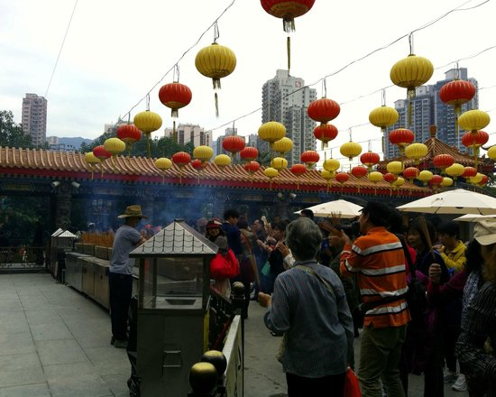 J3 Private Tours Hong Kong: Wong Tai Sin Temple