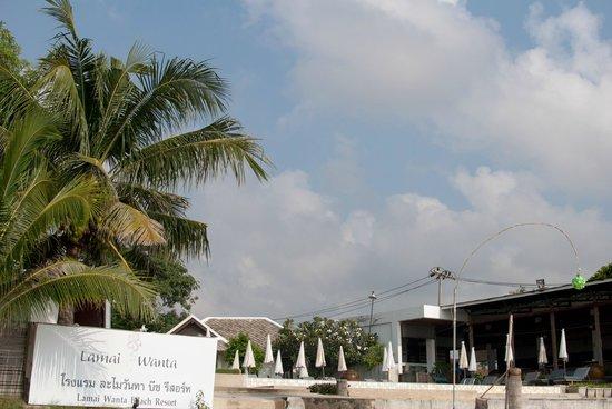 Lamai Wanta: Это вид на отель с моря