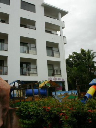 Meliá Puerto Vallarta All Inclusive: apartamento visto pela piscina