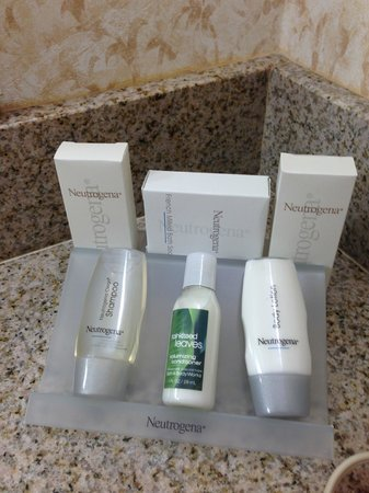 Hilton Garden Inn Ft. Lauderdale SW/Miramar: neutrogena products