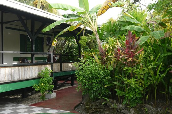 Casa Verde Lodge: Our room, by the garden