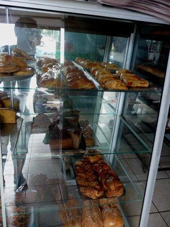 Tico's Panaderia : Tico Panaderia display case