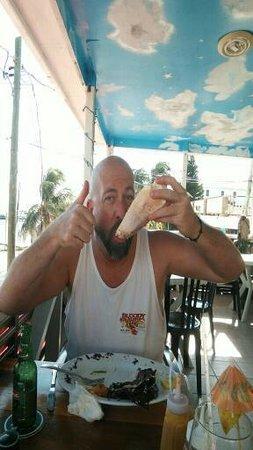 Doc'ks Tiki Bar & Grill: lunch upstairs