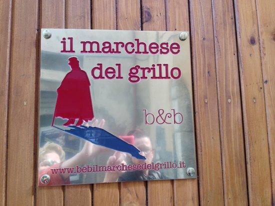 B&B Il Marchese del Grillo: Front Entry