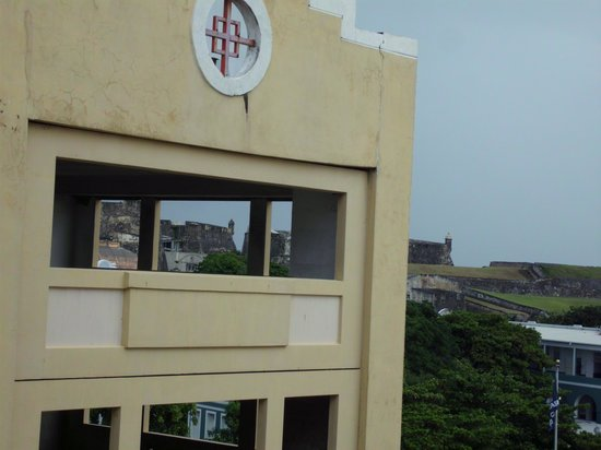Sheraton Old San Juan Hotel: Could see San Christobal from room