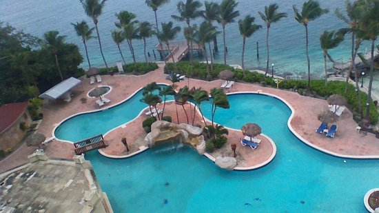 Paradise Island Harbour Resort All Inclusive: View from our roon #814